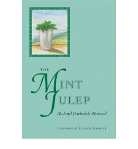 The Mint Julep [Hardcover]
